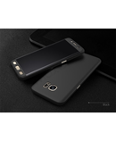 Black Samsung Galaxy 360 Degree Hard Cover